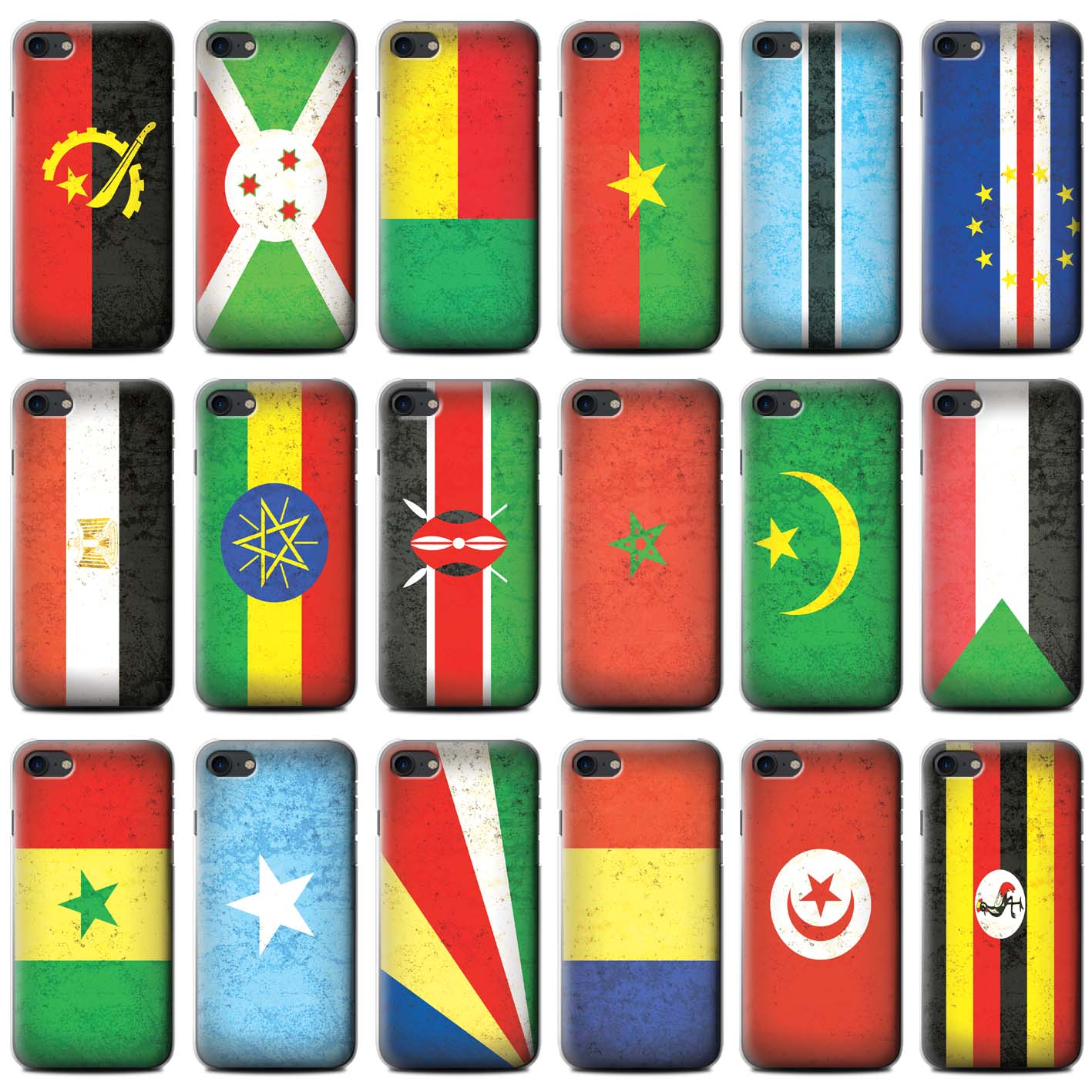 STUFF4-Coque-Etui-Gel-TPU-pour-LG-G-Smartphone-Drapeau-Africain-Housse