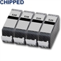 4x Black Compatible Canon PGI-520Bk Ink Cartridges for Pixma Inkjet Printers