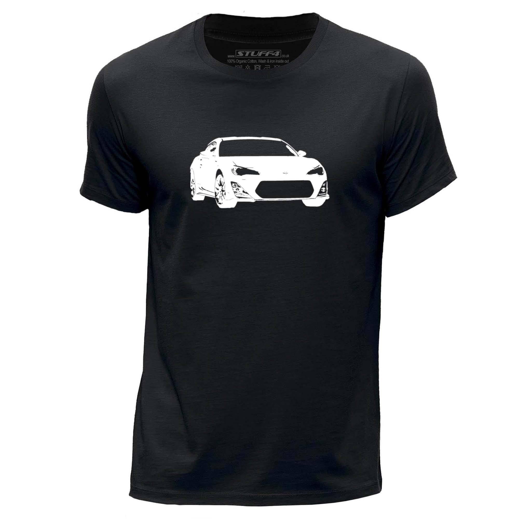 Gt86 design t shirts men s t shirt - Stuff4 Men 039 S Black Round Neck T