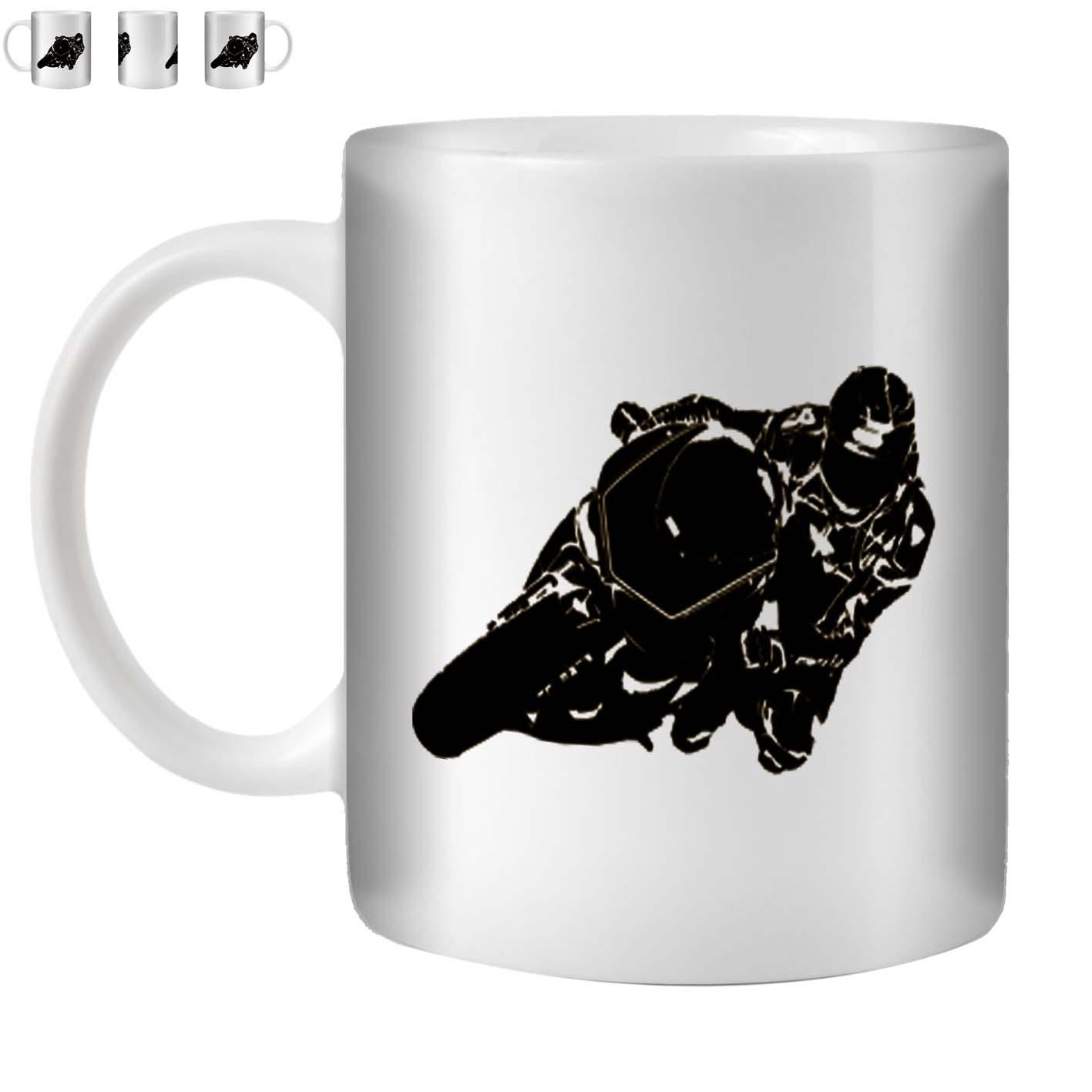 ROBA-4-Te-Caffe-Tazza-Coppa-350-ML-Stencil-Arte-Moto-angolo-ST10
