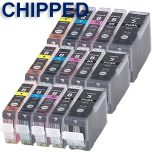 COMPATIBLE CANON CLI8/PGI5/PHOTO SERIES INK CARTRIDGES FOR PIXMA INKJET PRINTERS