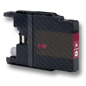 Magenta-Compatible-LC1240M-LC1280M-Ink-Cartridge-for-Brother-Inkjet-Printers