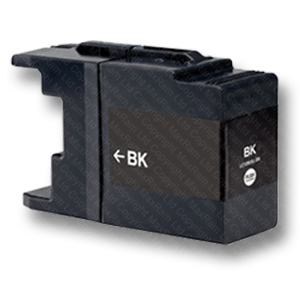 Black-Compatible-LC1240Bk-LC1280Bk-Ink-Cartridge-for-Brother-Inkjet-Printers