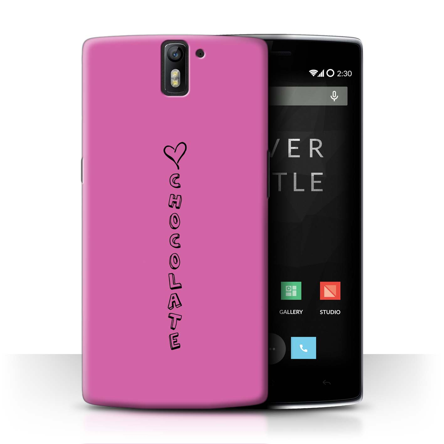 STUFF4 Phone Case/Back Cover for OnePlus One /Heart XOXO
