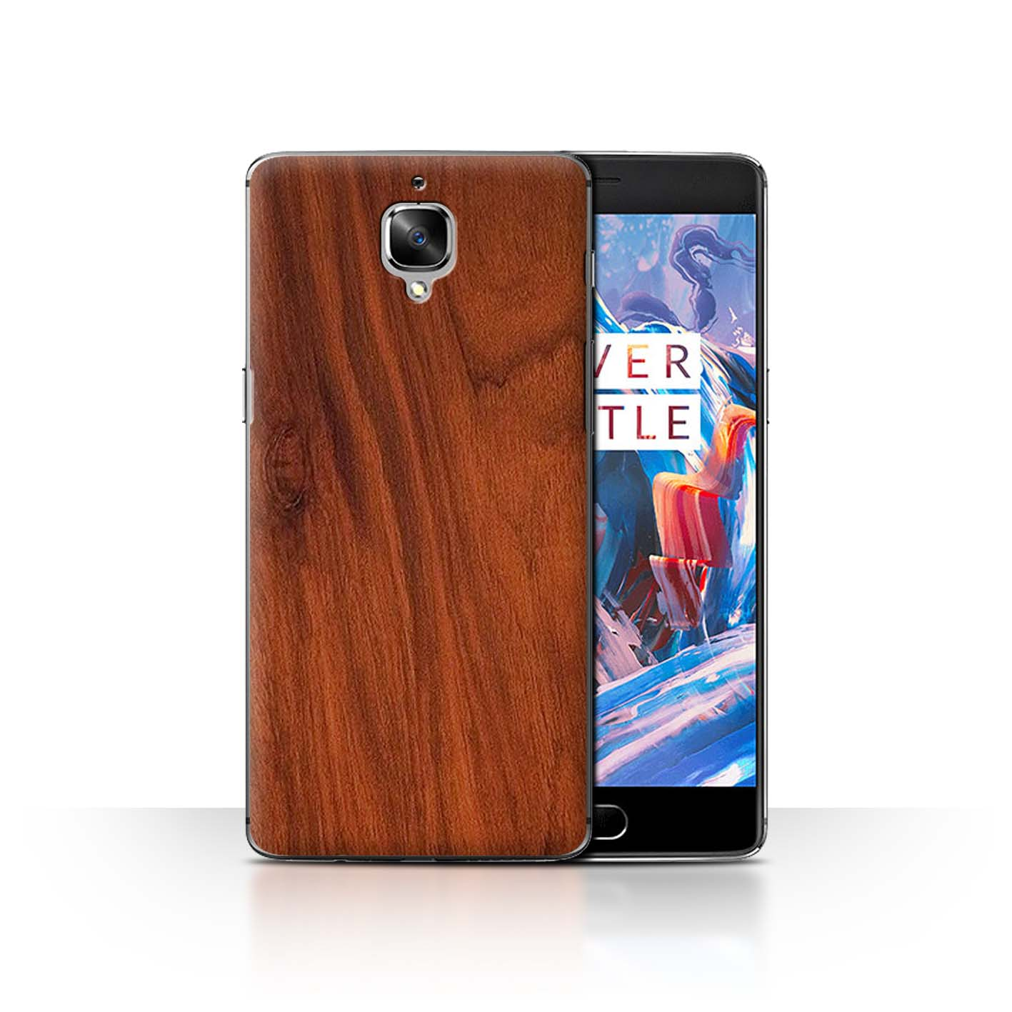 new styles 99ba7 4cb23 Details about STUFF4 Back Case/Cover/Skin for OnePlus 3/3T/Wood Grain  Effect/Pattern