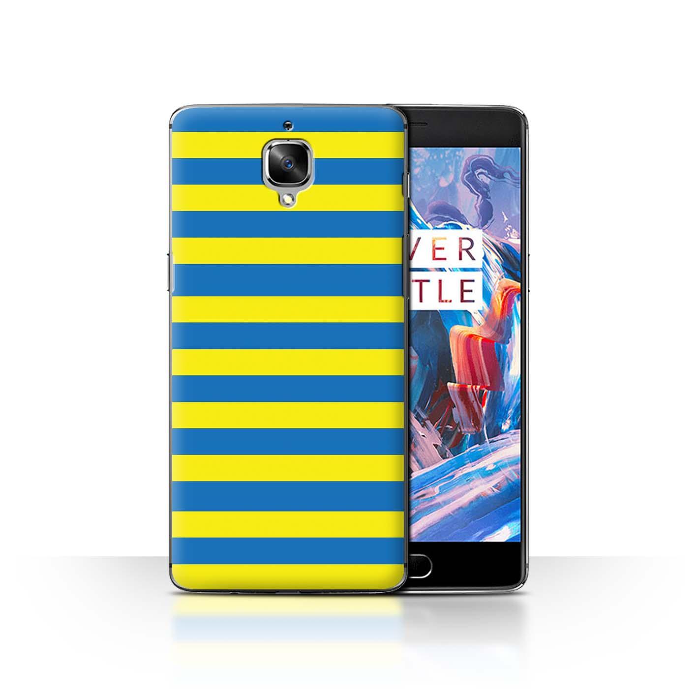 Coque-Etui-Housse-de-Stuff4-pour-OnePlus-3-3T-Mode-Jaune