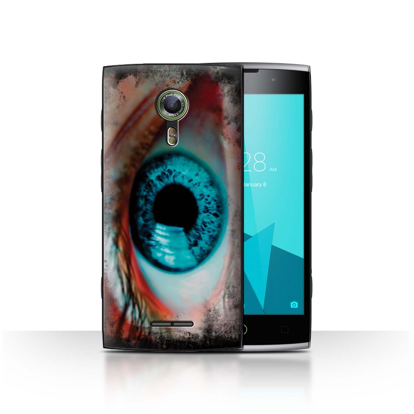 STUFF4-Back-Case-Cover-Skin-for-Alcatel-Flash-2-Eye-Iris