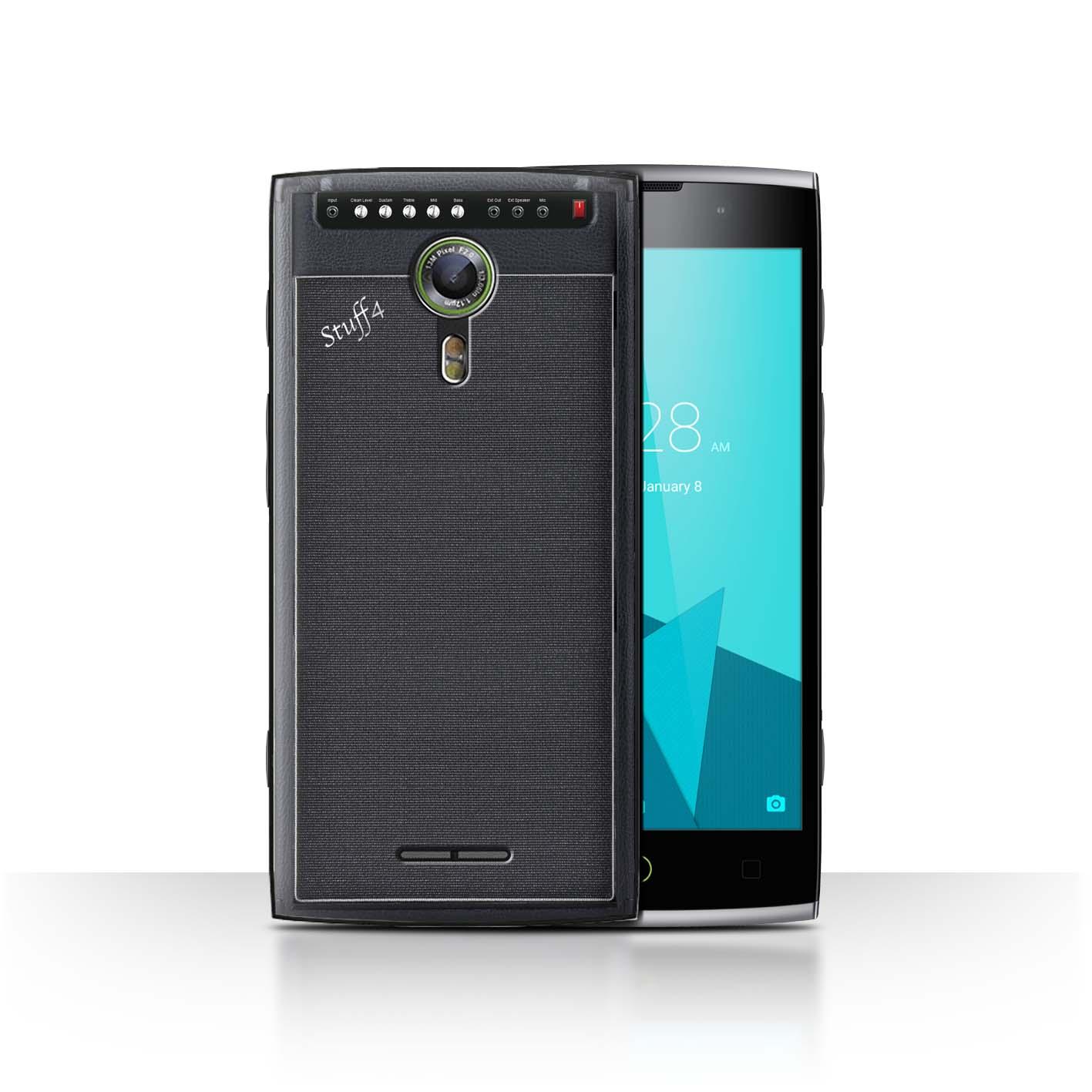 STUFF4-Back-Case-Cover-Skin-for-Alcatel-Flash-2-Speaker-Design