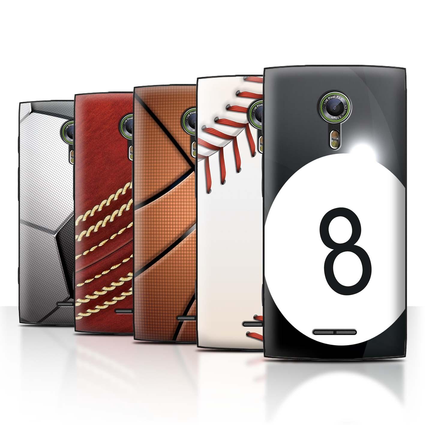 STUFF4-Back-Case-Cover-Skin-for-Alcatel-Flash-2-Sports-Balls