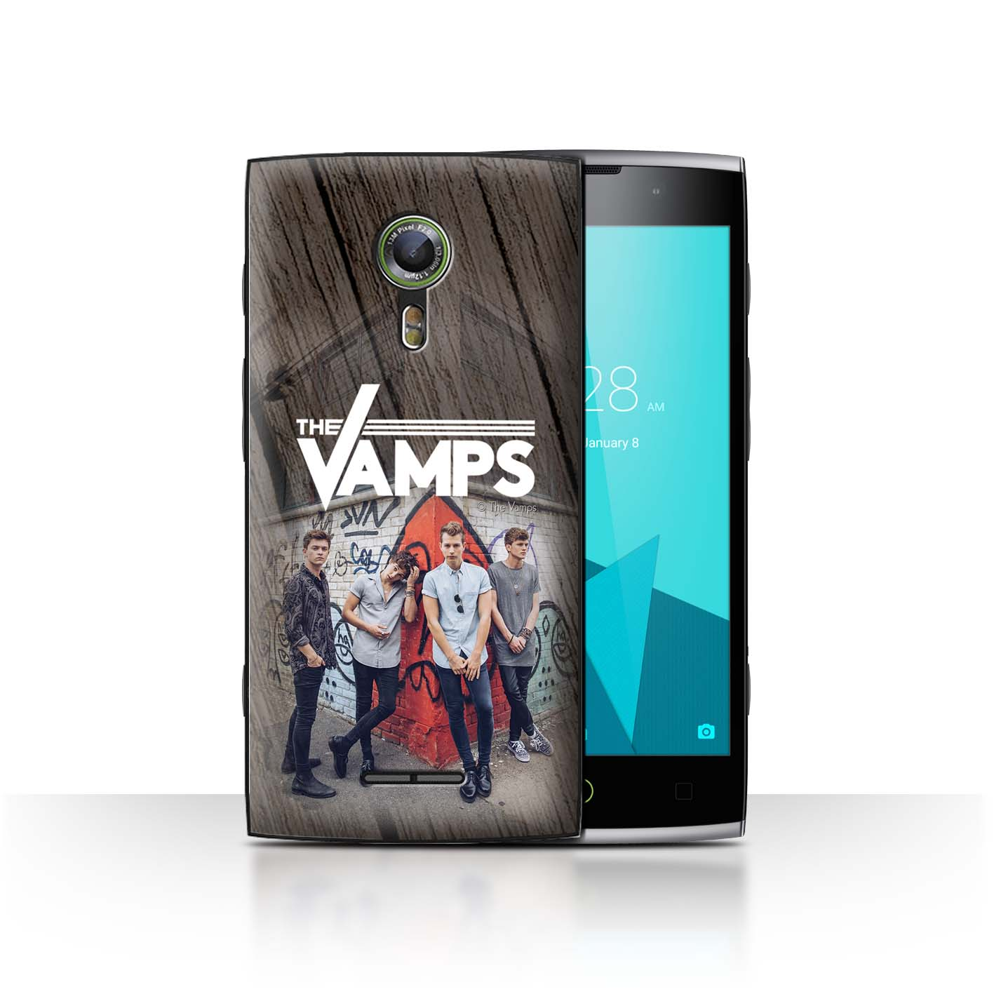 Official-The-Vamps-Case-Cover-for-Alcatel-Flash-2-The-Vamps-Photoshoot