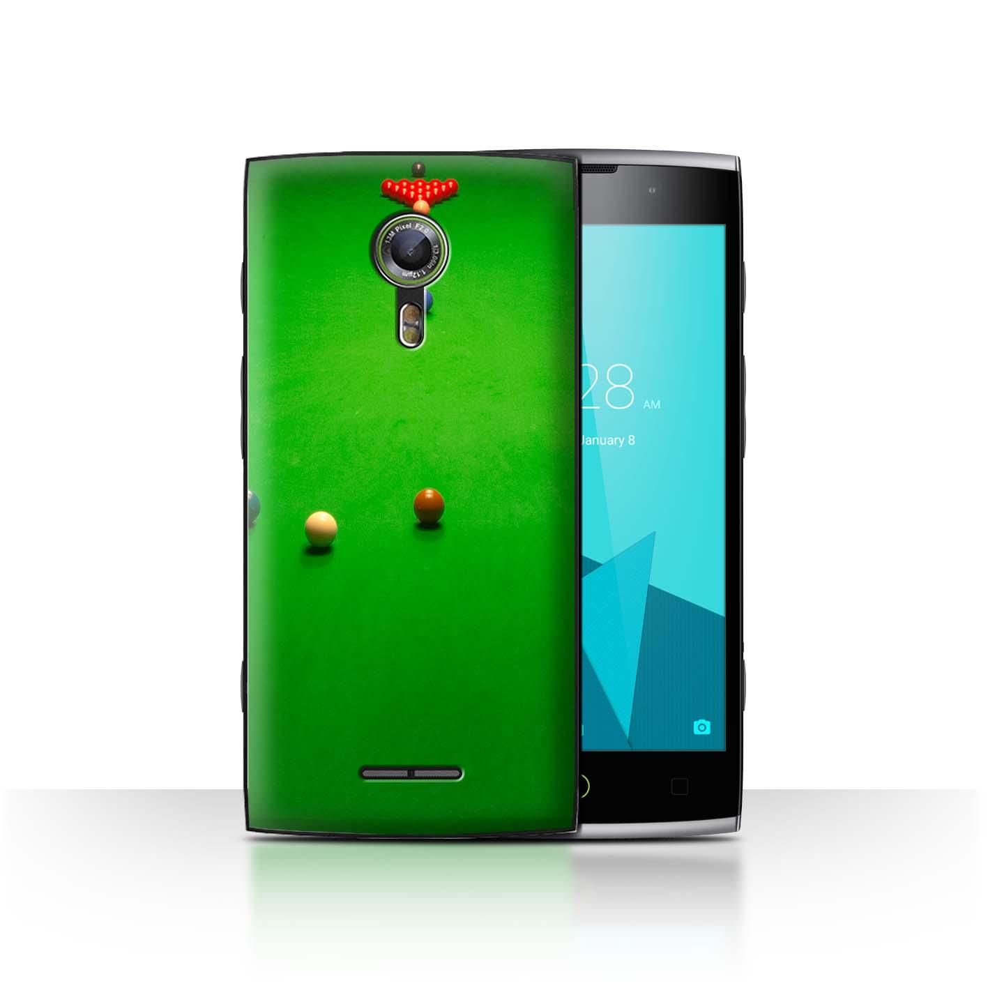 STUFF4-Back-Case-Cover-Skin-for-Alcatel-Flash-2-Snooker