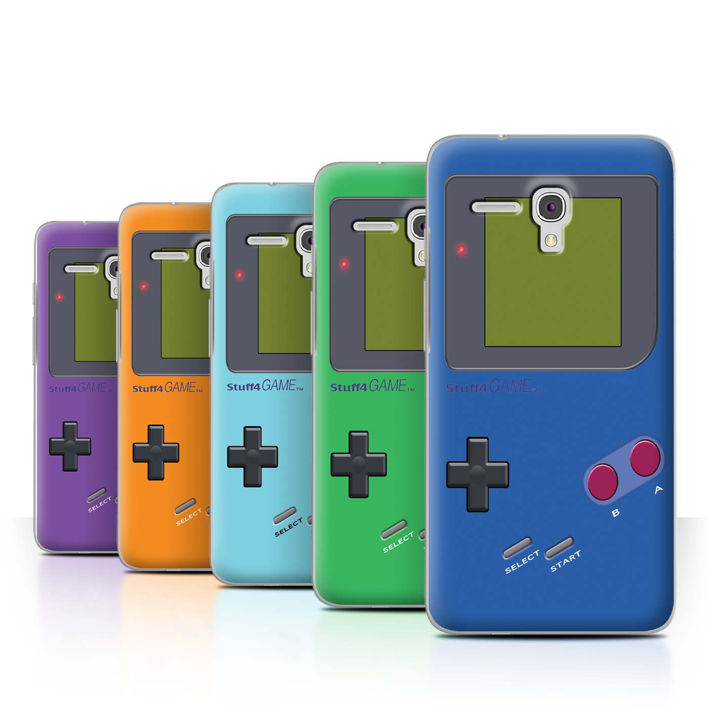 STUFF4-Back-Case-Cover-Skin-for-Alcatel-Fierce-XL-Video-Gamer-Gameboy