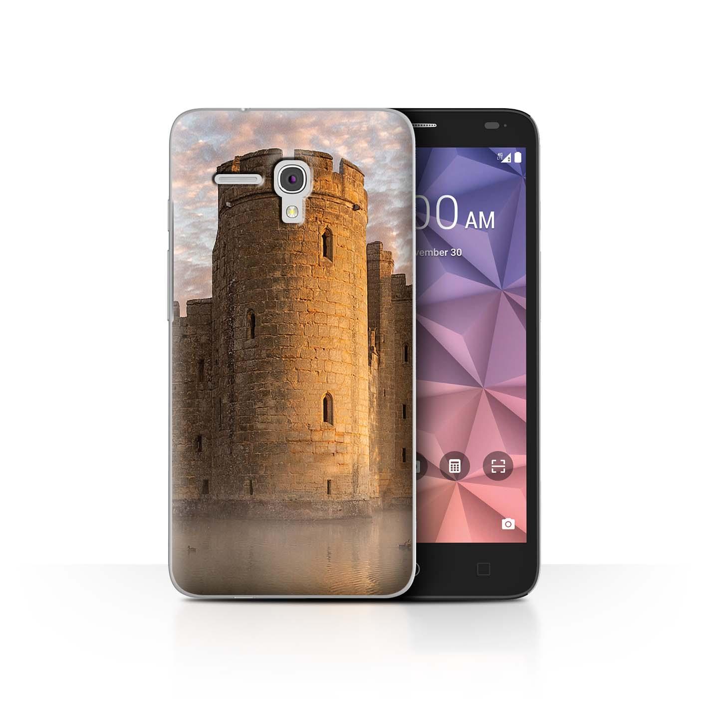 STUFF4-Back-Case-Cover-Skin-for-Alcatel-Fierce-XL-Castle-Fort