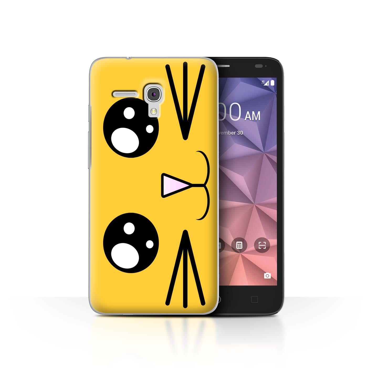 STUFF4-Back-Case-Cover-Skin-for-Alcatel-Fierce-XL-Cute-Kawaii