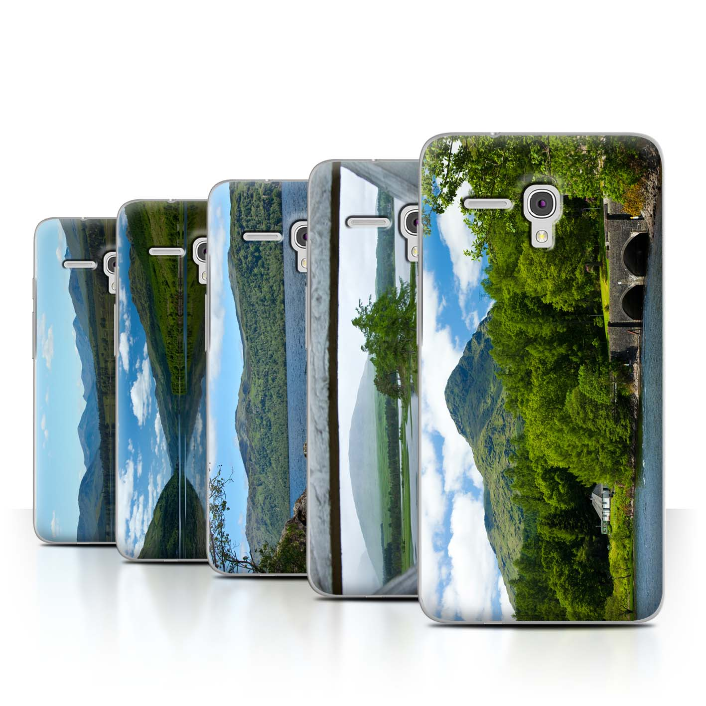 STUFF4-Back-Case-Cover-Skin-for-Alcatel-Fierce-XL-Scottish-Landscape