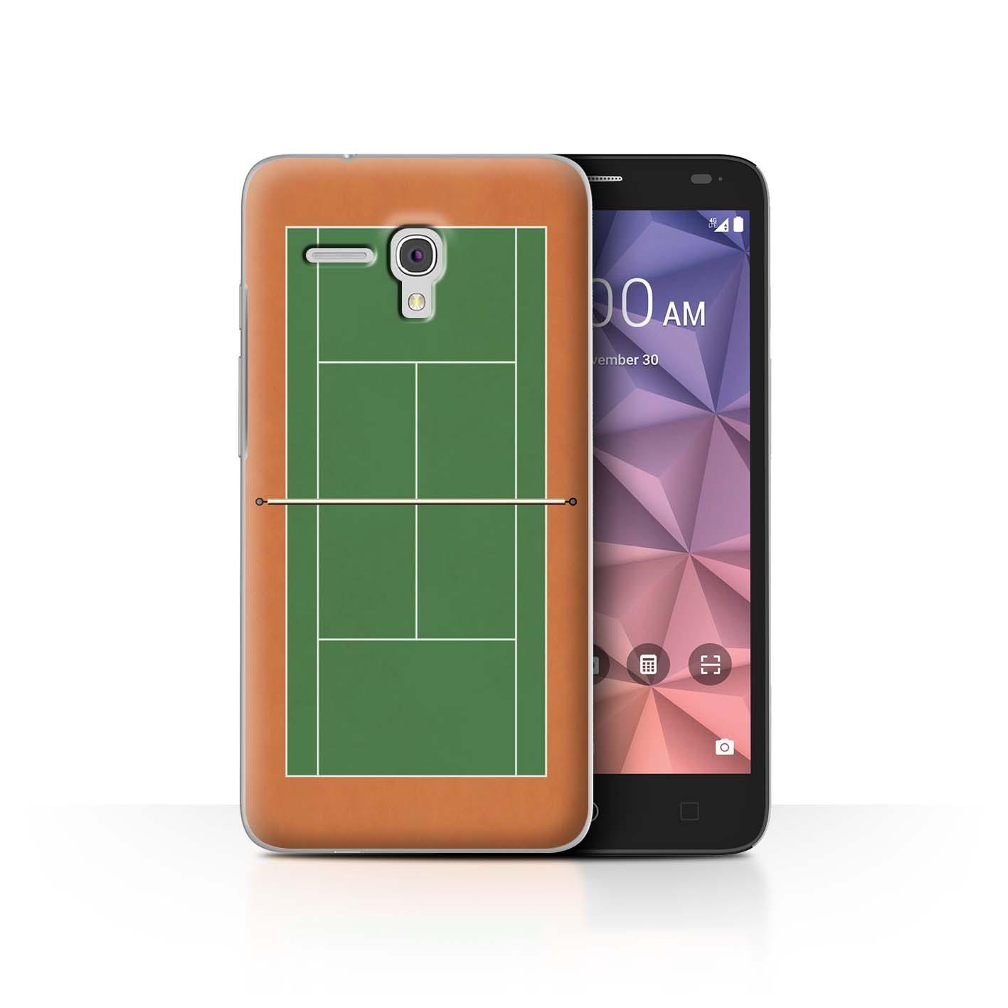 STUFF4-Back-Case-Cover-Skin-for-Alcatel-Fierce-XL-Tennis-Courts