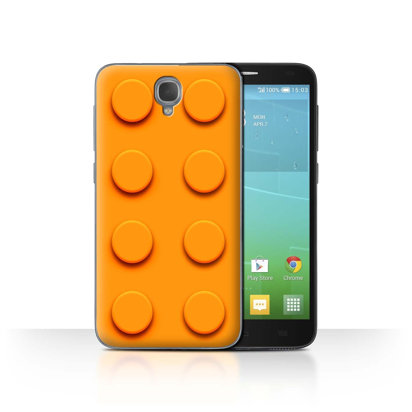 STUFF4-Back-Case-Cover-Skin-for-Alcatel-Idol-2-Toy-Bricks-Blocks