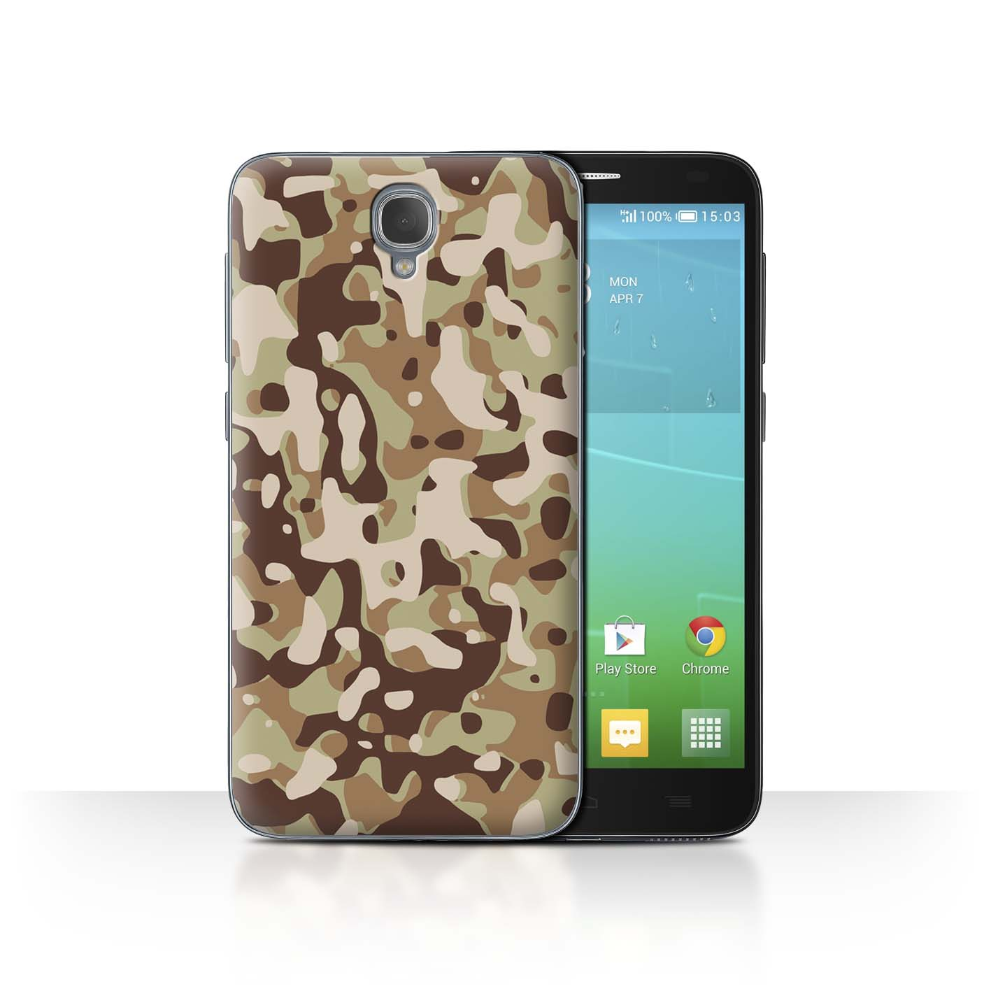 STUFF4-Back-Case-Cover-Skin-for-Alcatel-Idol-2-Camouflage-Army-Navy
