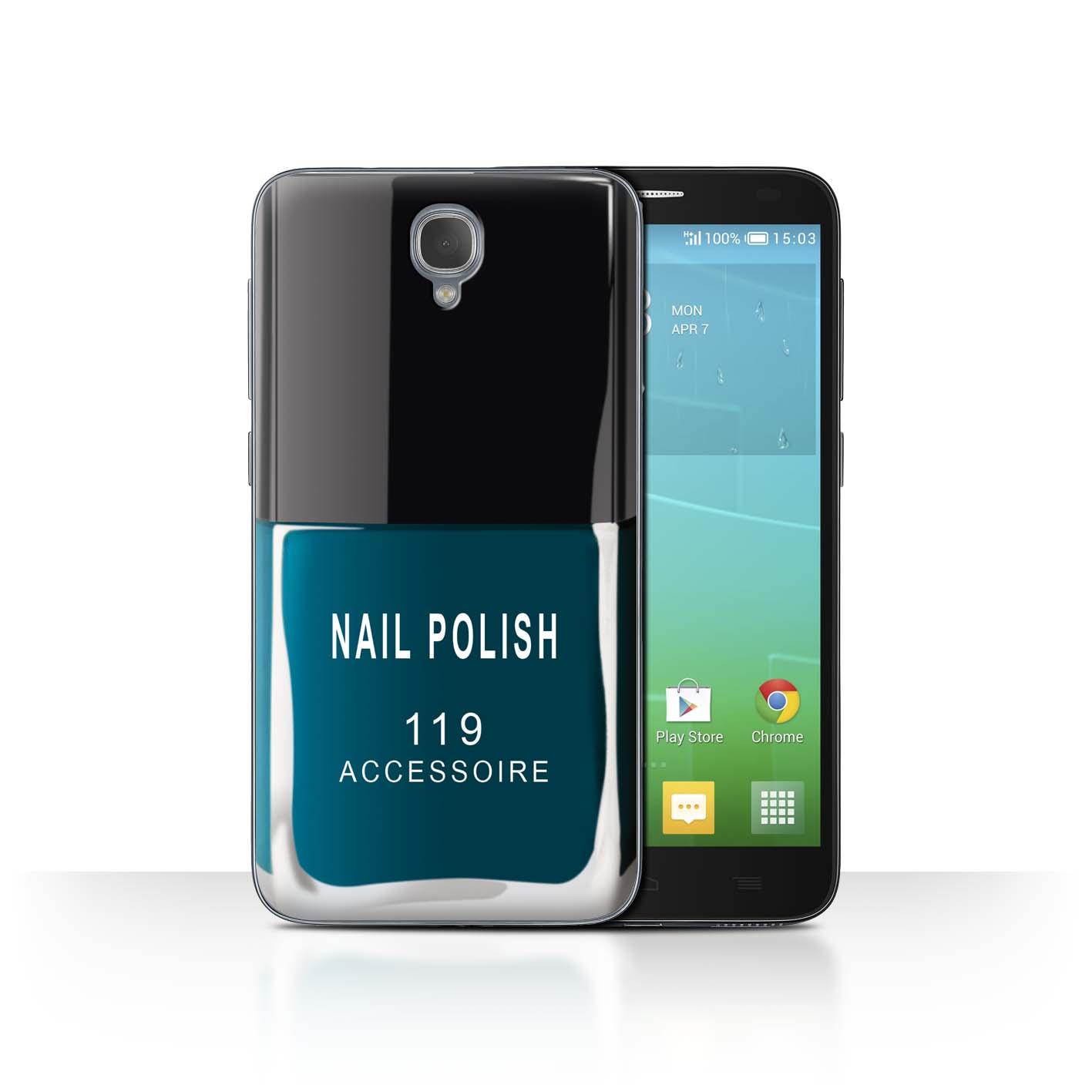 STUFF4-Back-Case-Cover-Skin-for-Alcatel-Idol-2-Nail-Polish-Make-Up