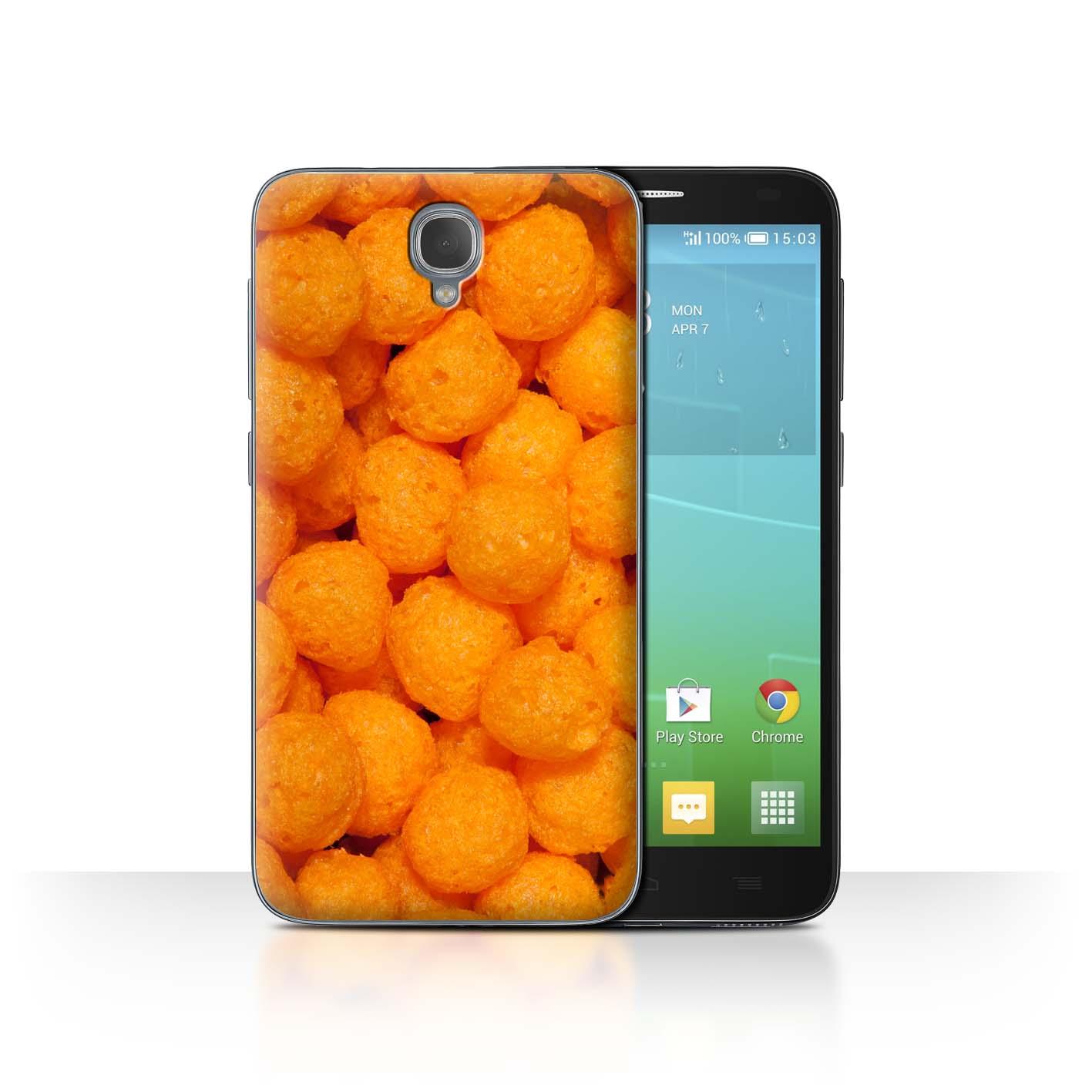 STUFF4-Back-Case-Cover-Skin-for-Alcatel-Idol-2-Snacks