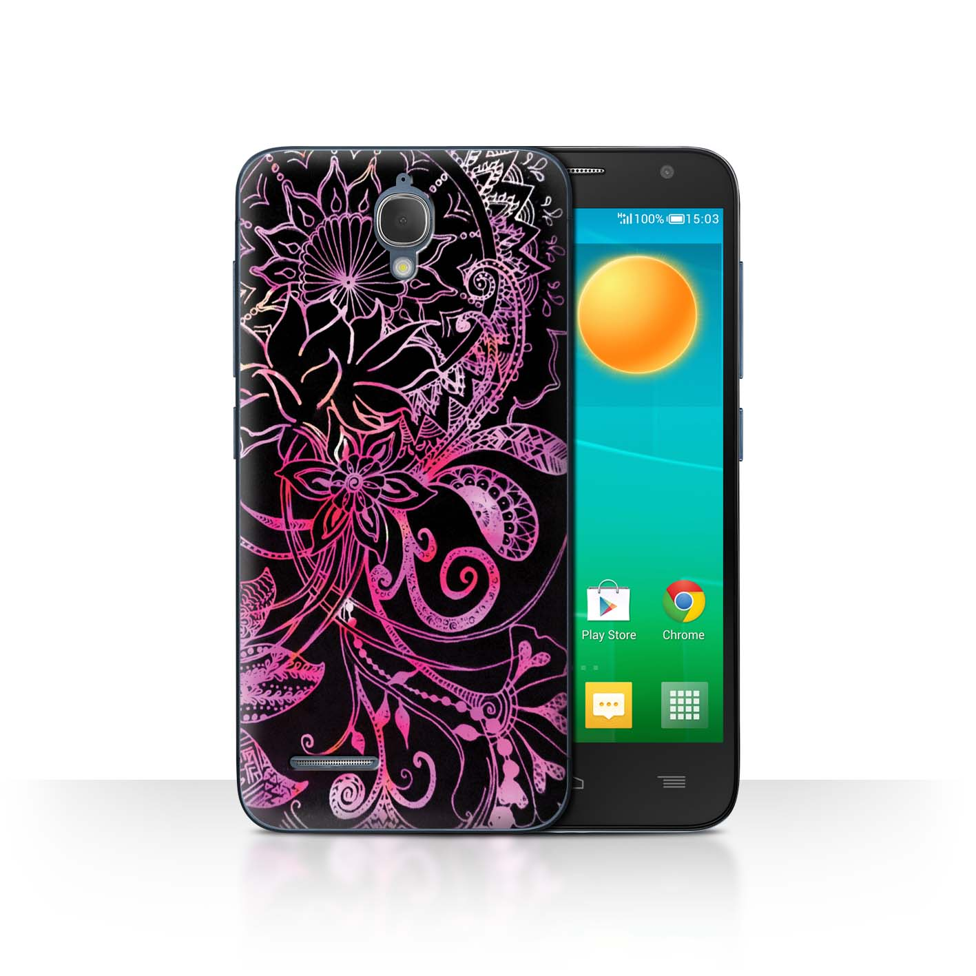 STUFF4-Back-Case-Cover-Skin-for-Alcatel-Idol-2-Mini-Henna-Paisley-Flower