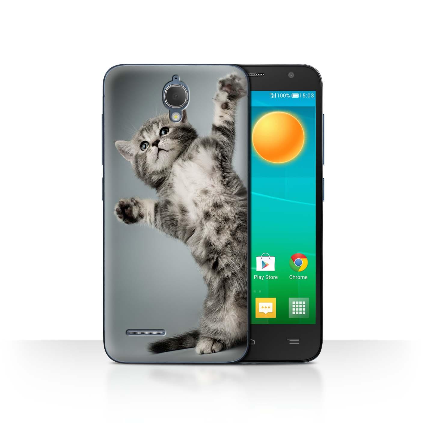 STUFF4-Back-Case-Cover-Skin-for-Alcatel-Idol-2-Mini-Cute-Kittens