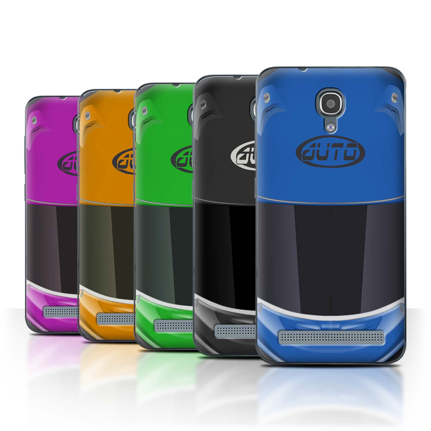 STUFF4-Back-Case-Cover-Skin-for-Alcatel-Idol-2-Mini-S-Motorcycle-Helmet
