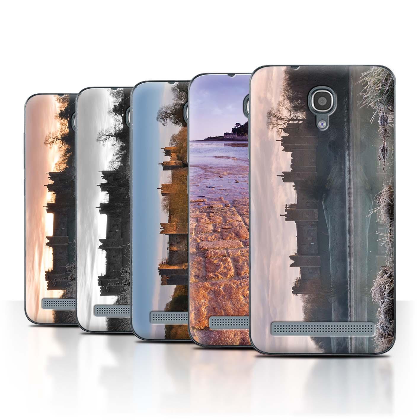STUFF4-Back-Case-Cover-Skin-for-Alcatel-Idol-2-Mini-S-Castle-Fort