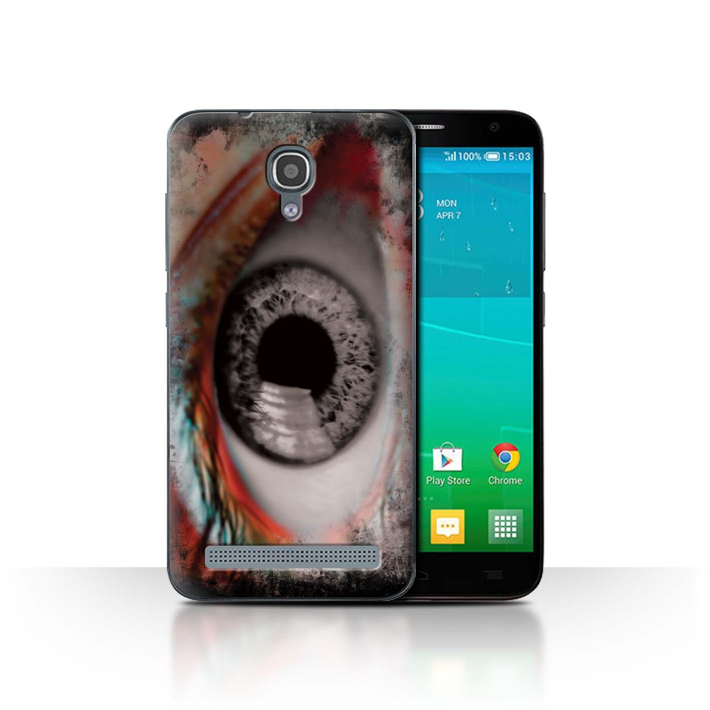 STUFF4-Back-Case-Cover-Skin-for-Alcatel-Idol-2-Mini-S-Eye-Iris