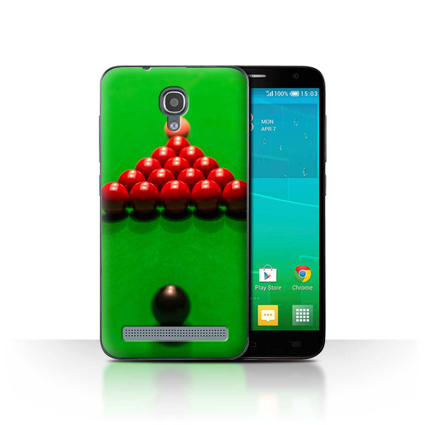 STUFF4-Back-Case-Cover-Skin-for-Alcatel-Idol-2-Mini-S-Snooker