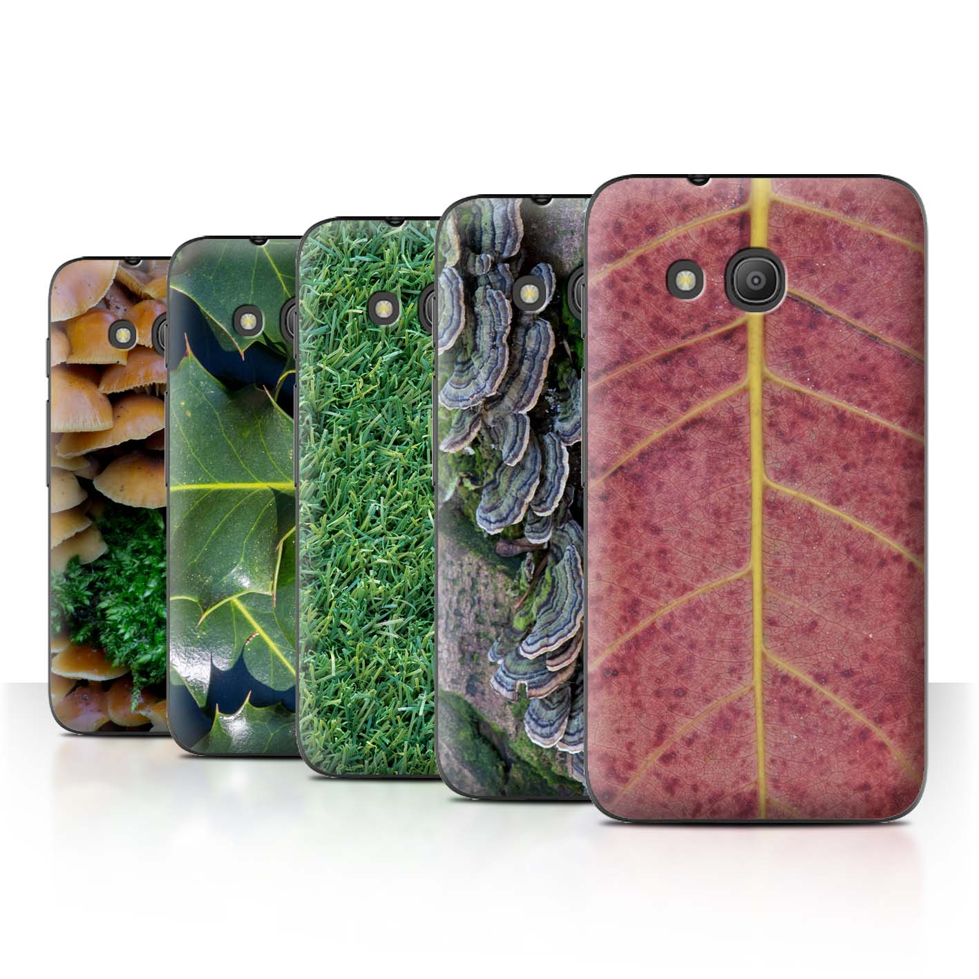 STUFF4-Back-Case-Cover-Skin-for-Alcatel-Pixi-4-4-034-Plants-Leaves