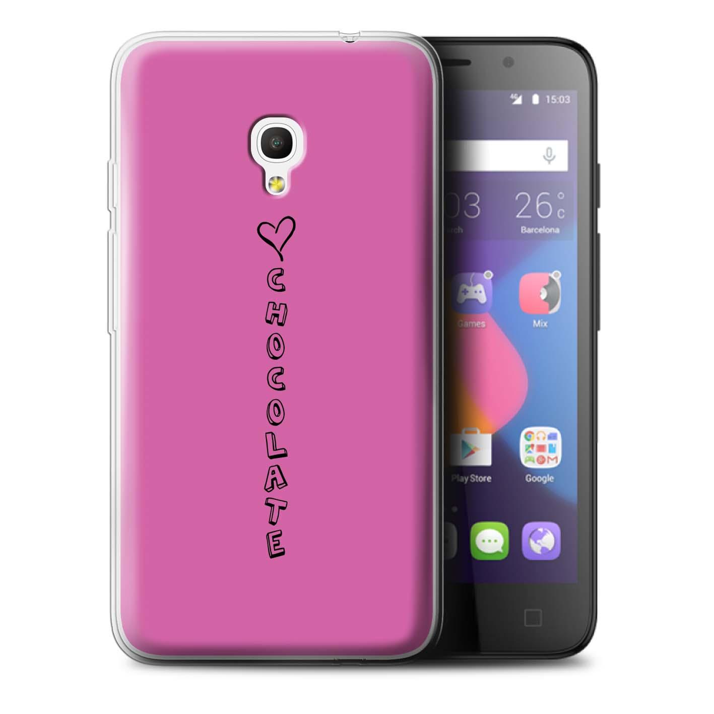 Stuff 4 Gel/TPU Funda de teléfono para Alcatel Pixi 4 5.0/Corazón Xoxo