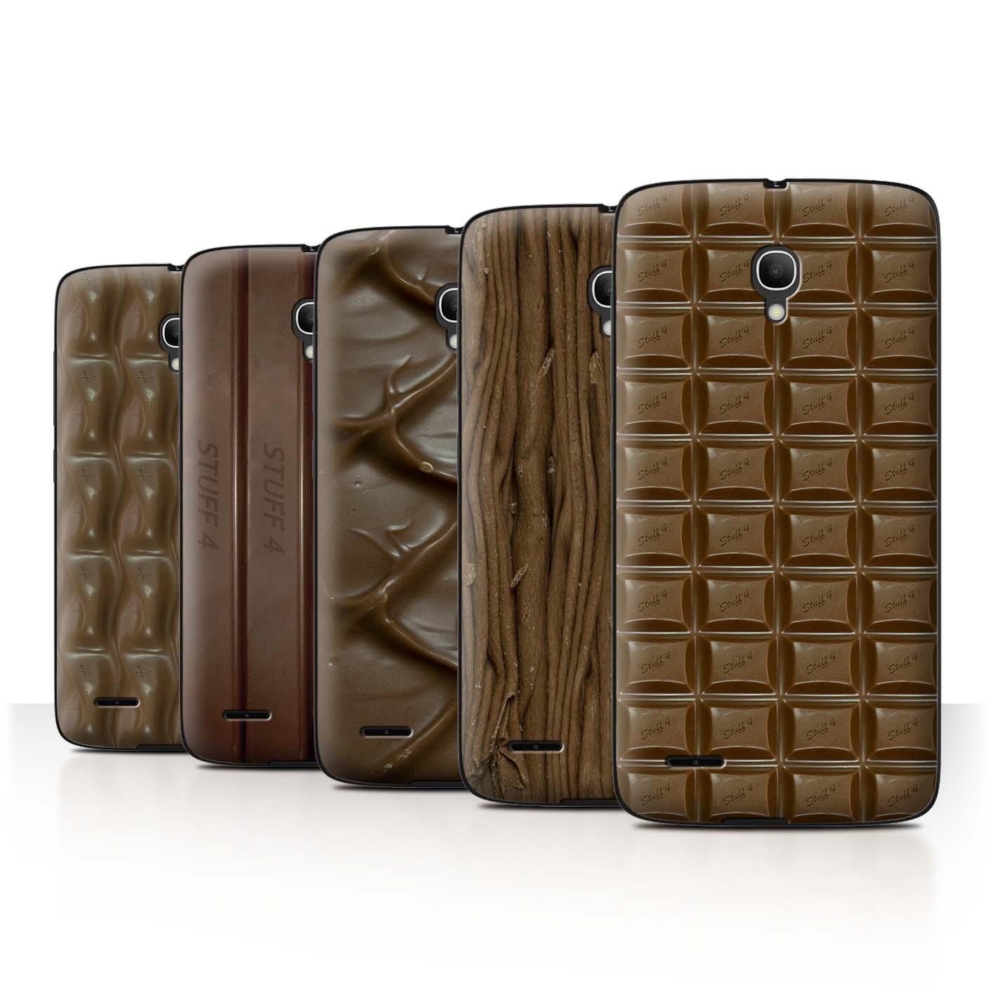 STUFF4-Back-Case-Cover-Skin-for-Alcatel-Pop-2-5-034-Chocolate
