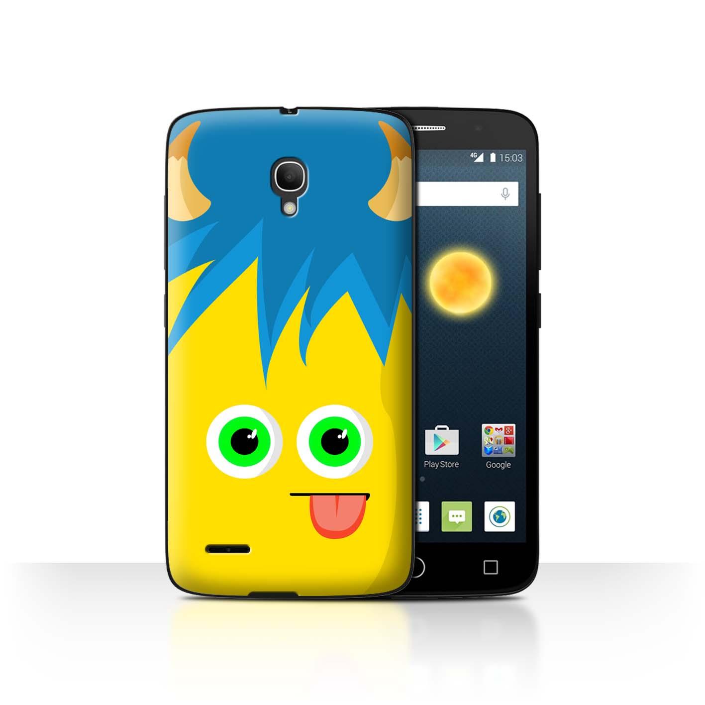 STUFF4-Back-Case-Cover-Skin-for-Alcatel-Pop-2-5-034-Monsters