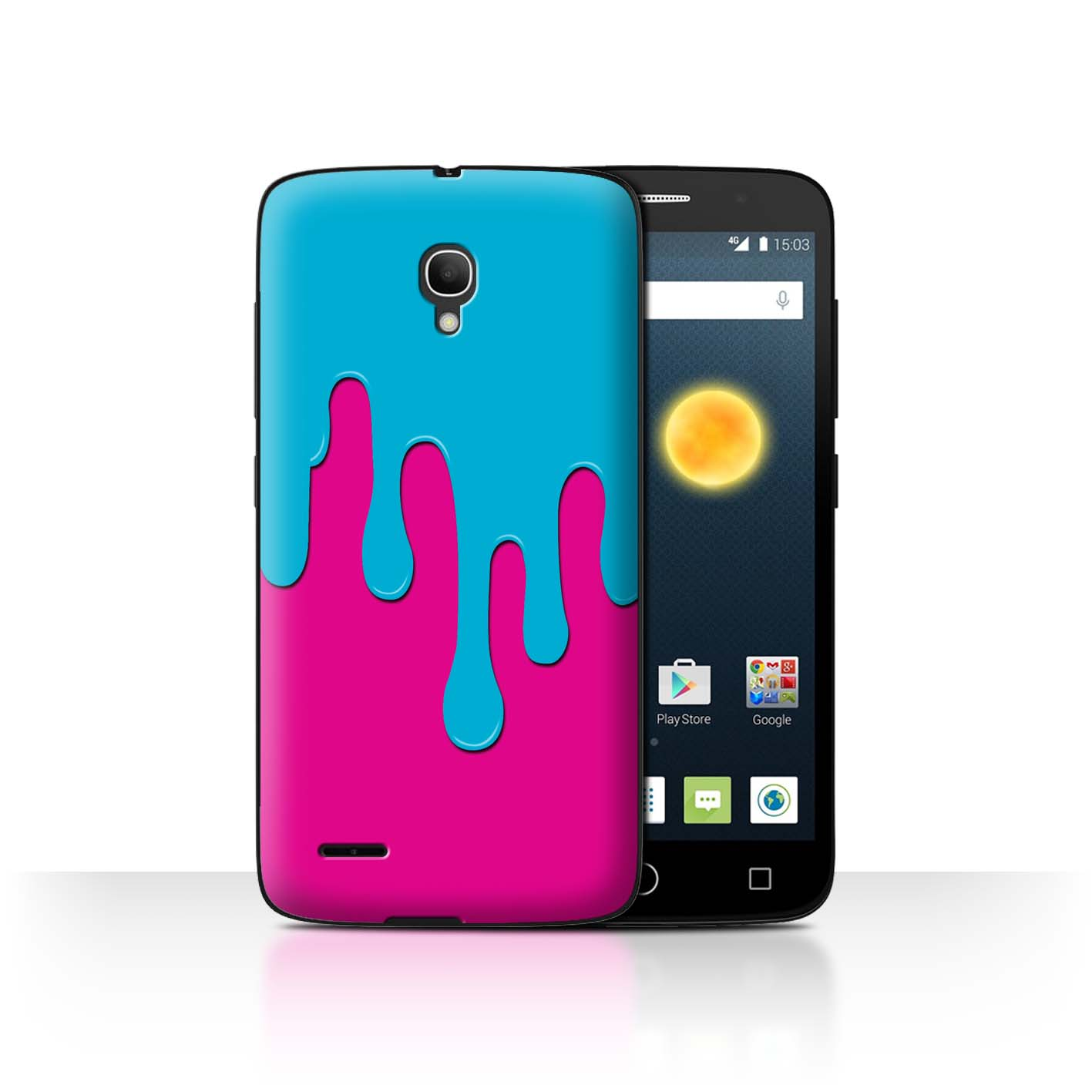 STUFF4-Back-Case-Cover-Skin-for-Alcatel-Pop-2-5-034-Paint-Spill