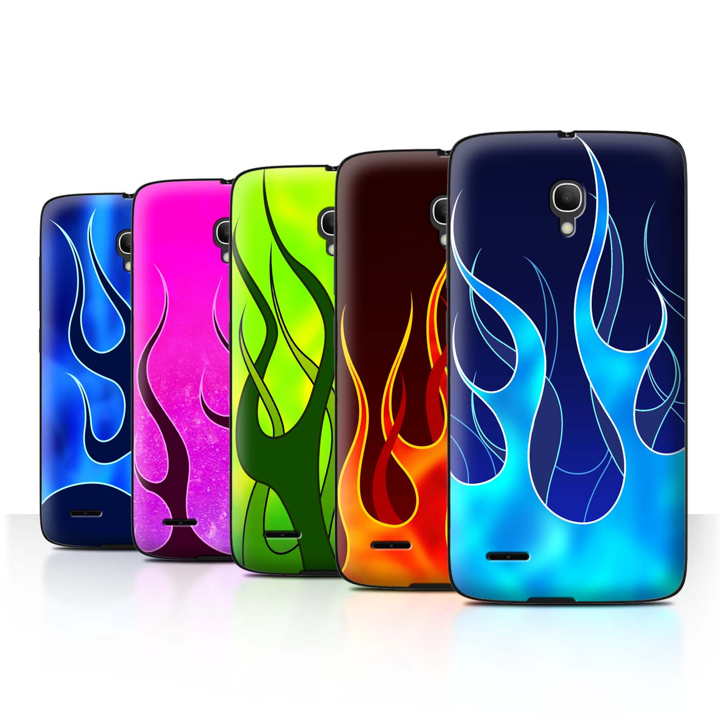 STUFF4-Back-Case-Cover-Skin-for-Alcatel-Pop-2-5-034-Flame-Paint-Job