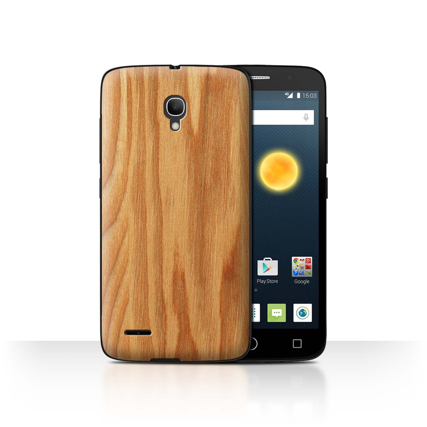 STUFF4-Back-Case-Cover-Skin-for-Alcatel-Pop-2-5-034-Wood-Grain-Effect-Pattern