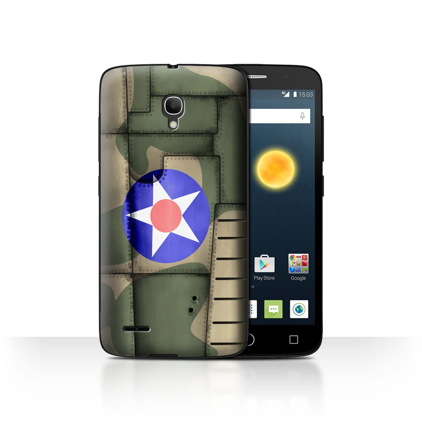 STUFF4-Back-Case-Cover-Skin-for-Alcatel-Pop-2-5-034-Airplane-Fighter-Wing