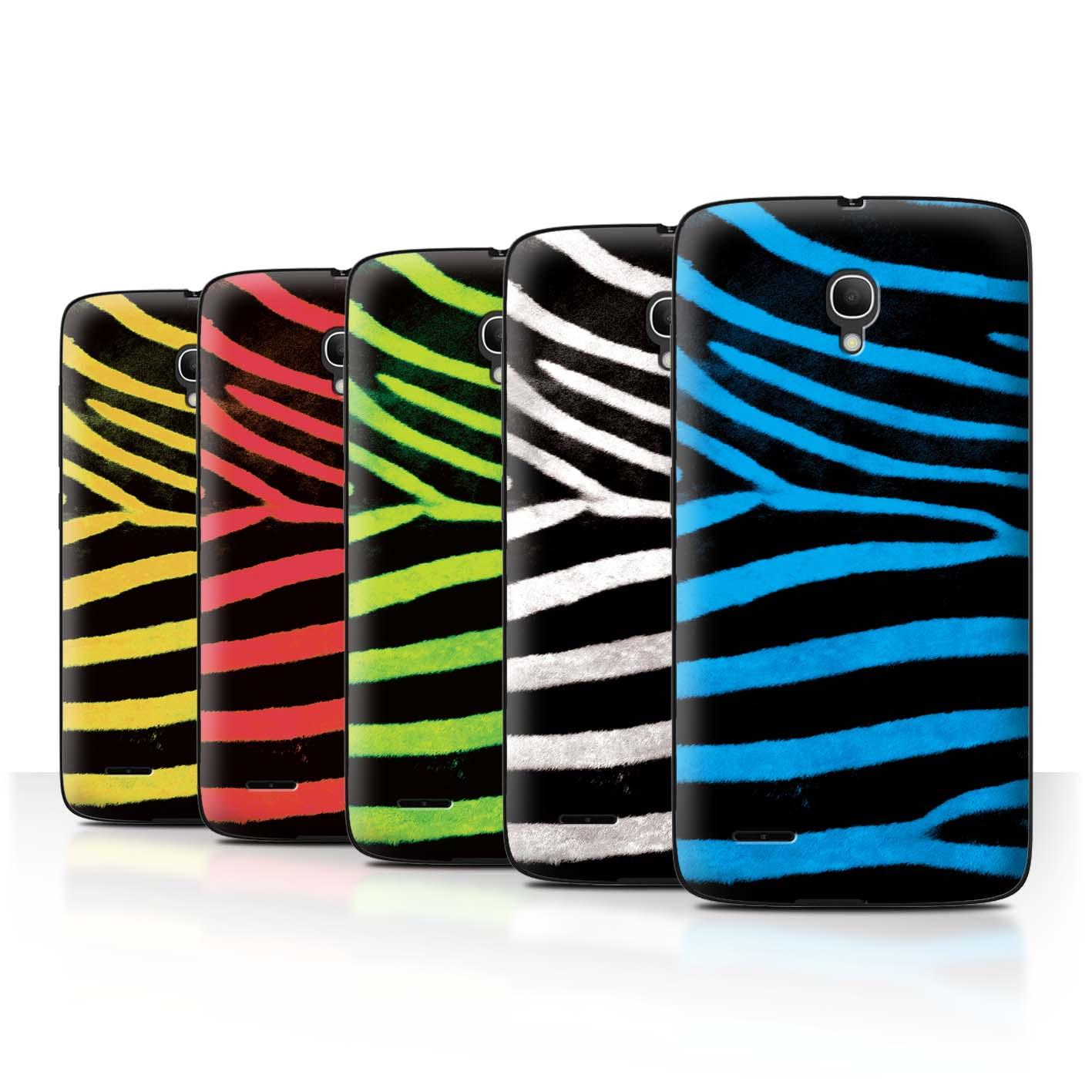 STUFF4-Back-Case-Cover-Skin-for-Alcatel-Pop-2-5-034-Zebra-Animal-Skin-Print