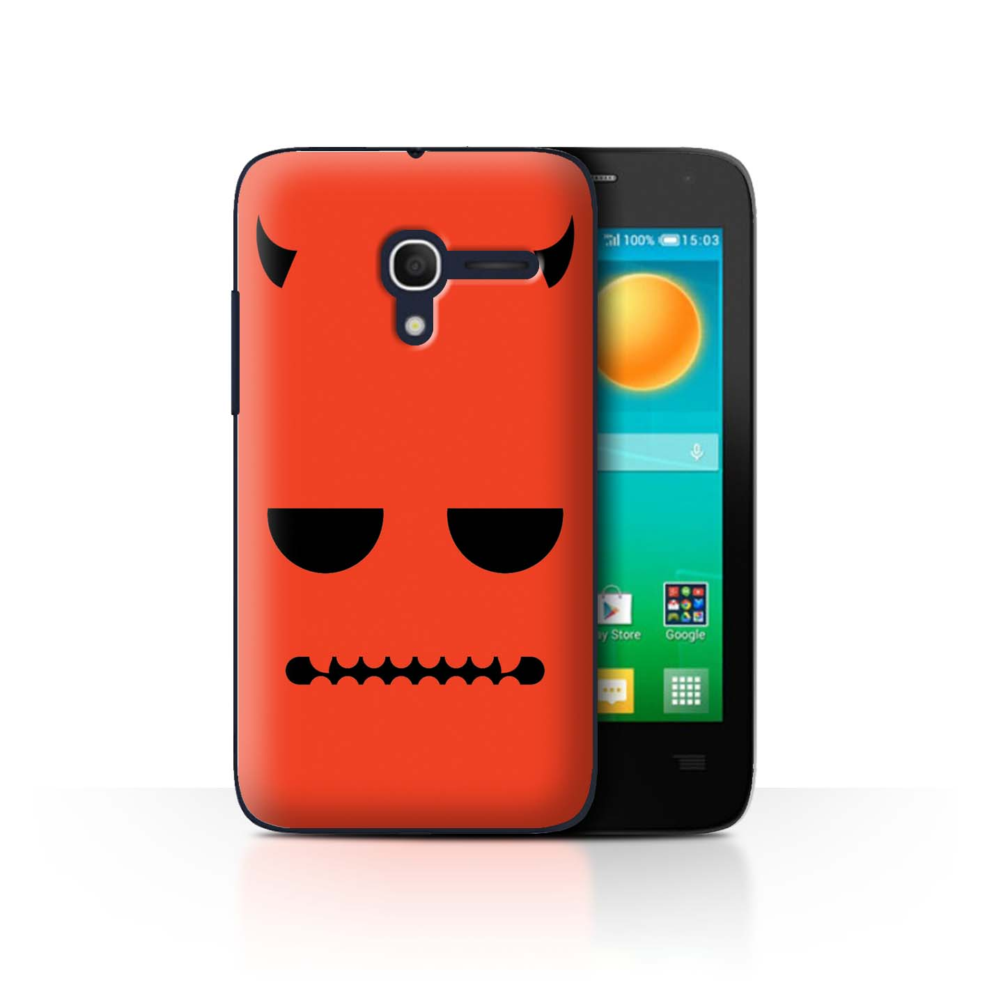STUFF4-Back-Case-Cover-Skin-for-Alcatel-Pop-D3-Halloween-Character