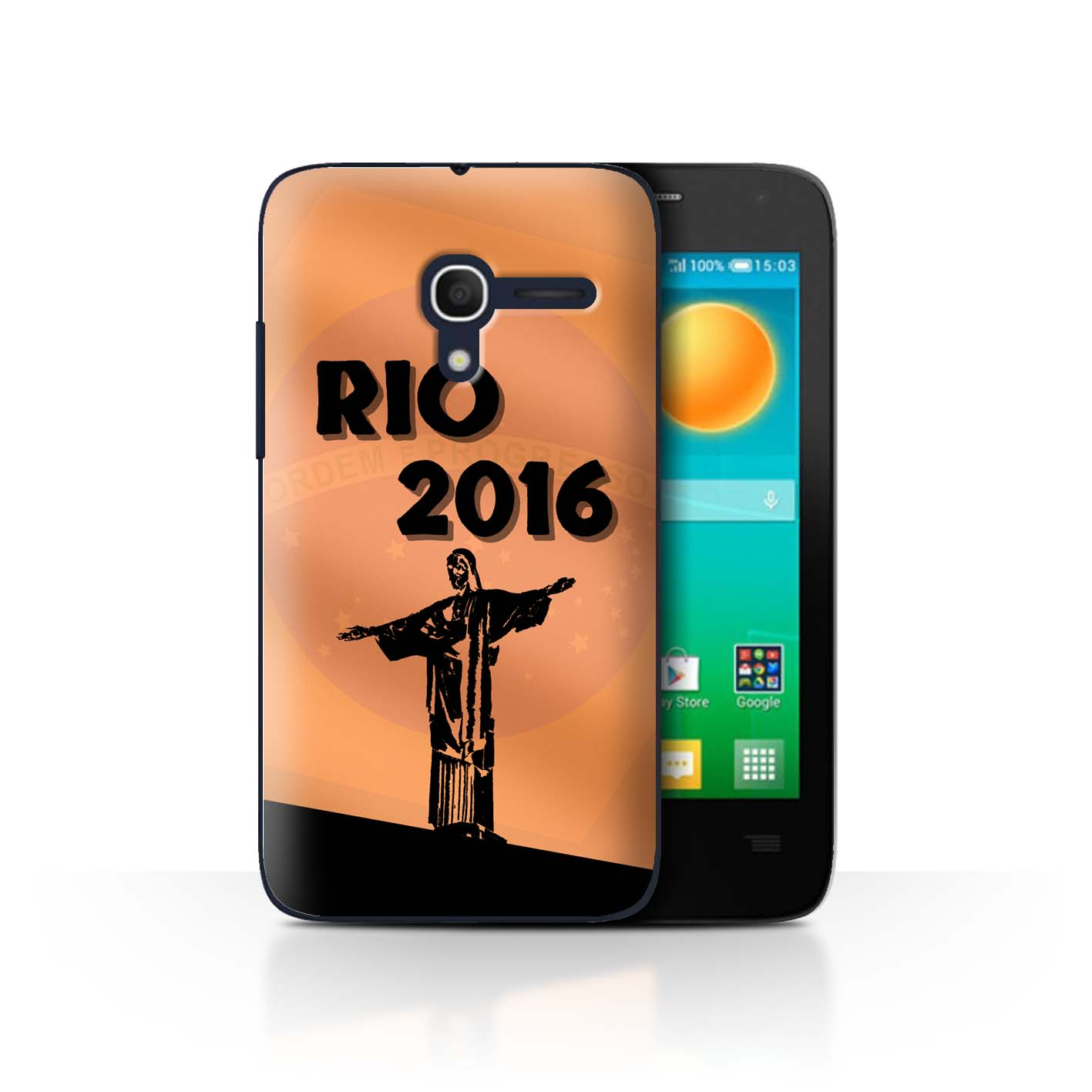 Stuff4-Huelle-Case-Backcover-fuer-Alcatel-Pop-D3-Rio-Olympisch