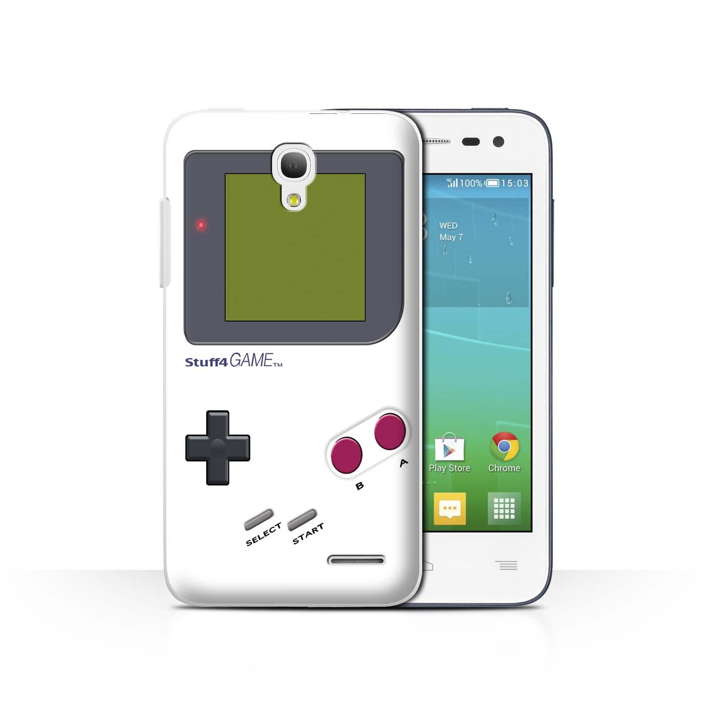 STUFF4-Back-Case-Cover-Skin-for-Alcatel-OneTouch-Pop-S3-Video-Gamer-Gameboy