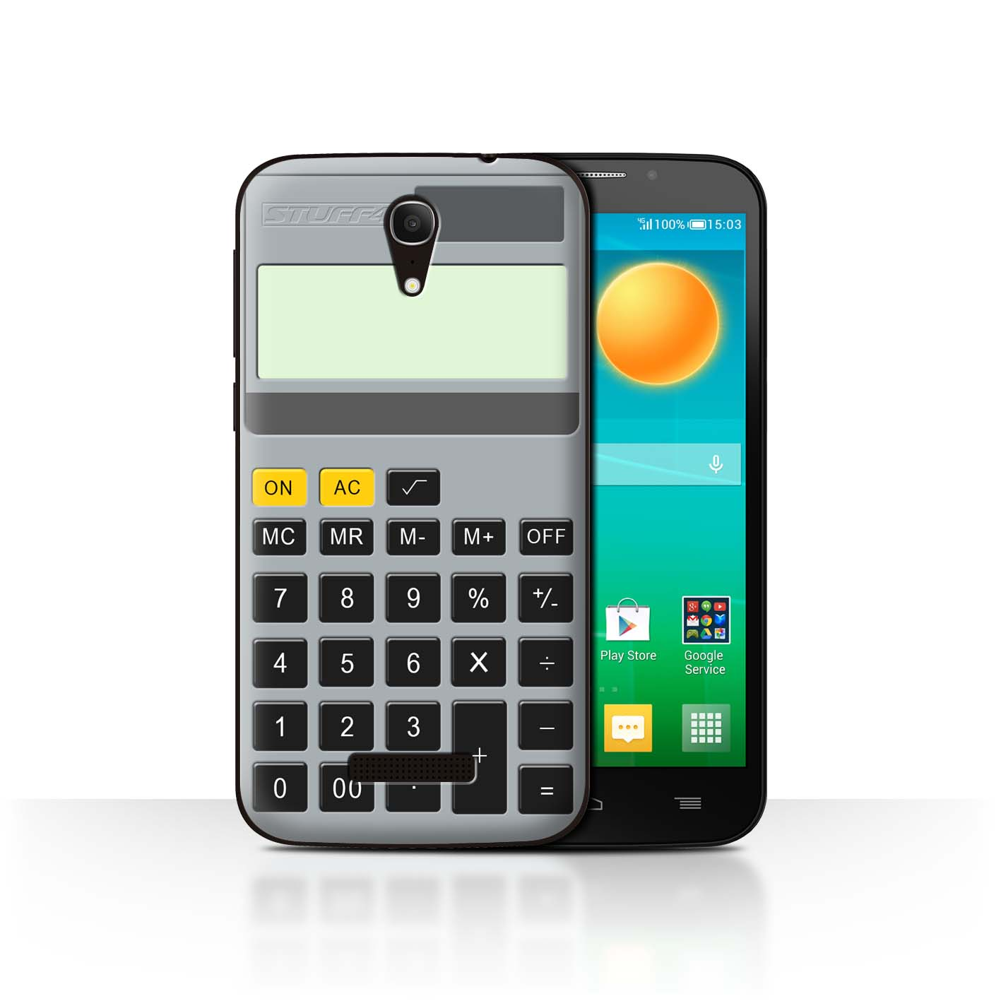 STUFF4-Back-Case-Cover-Skin-for-Alcatel-Pop-S7-Keys-Buttons