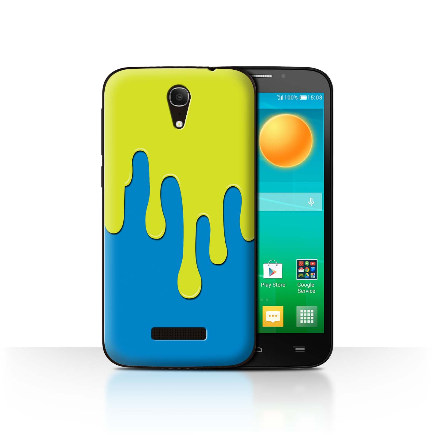 STUFF4-Back-Case-Cover-Skin-for-Alcatel-Pop-S7-Paint-Spill