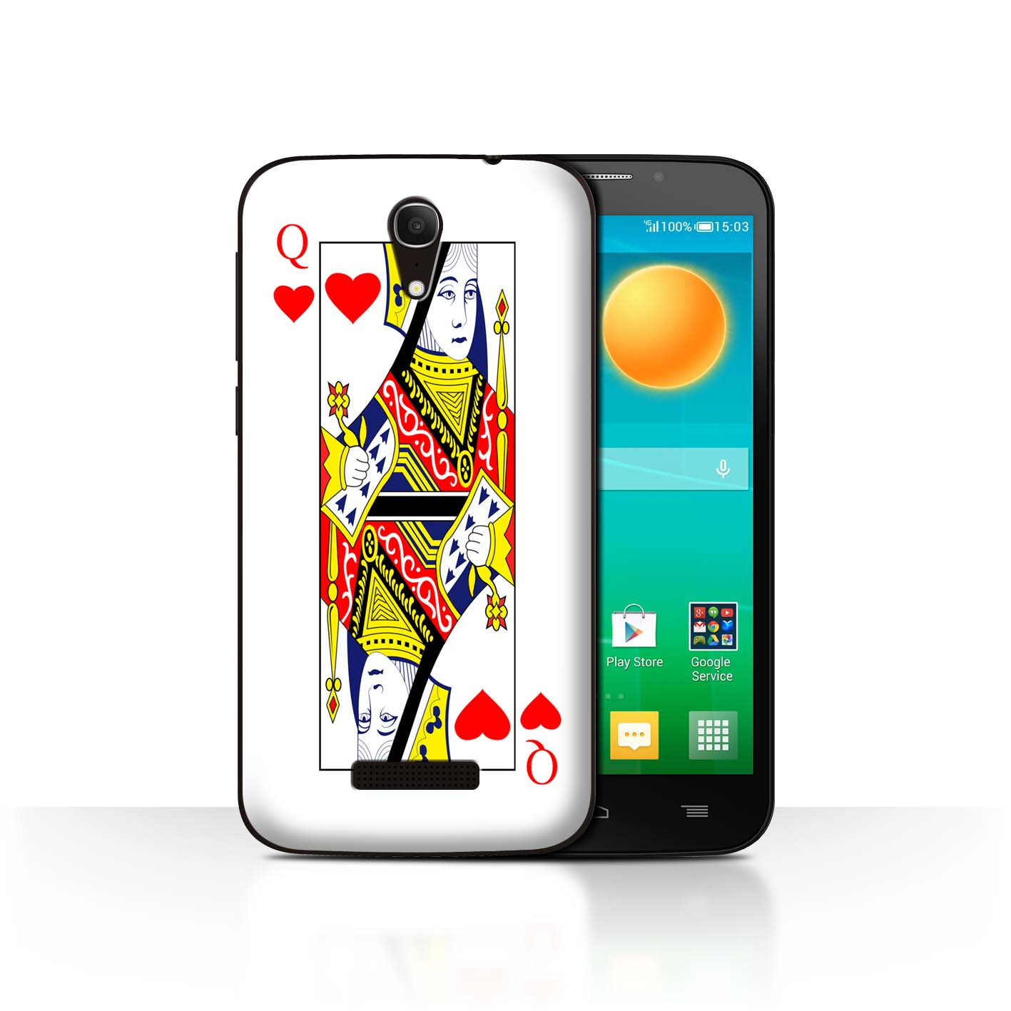 STUFF4-Back-Case-Cover-Skin-for-Alcatel-Pop-S7-Playing-Cards