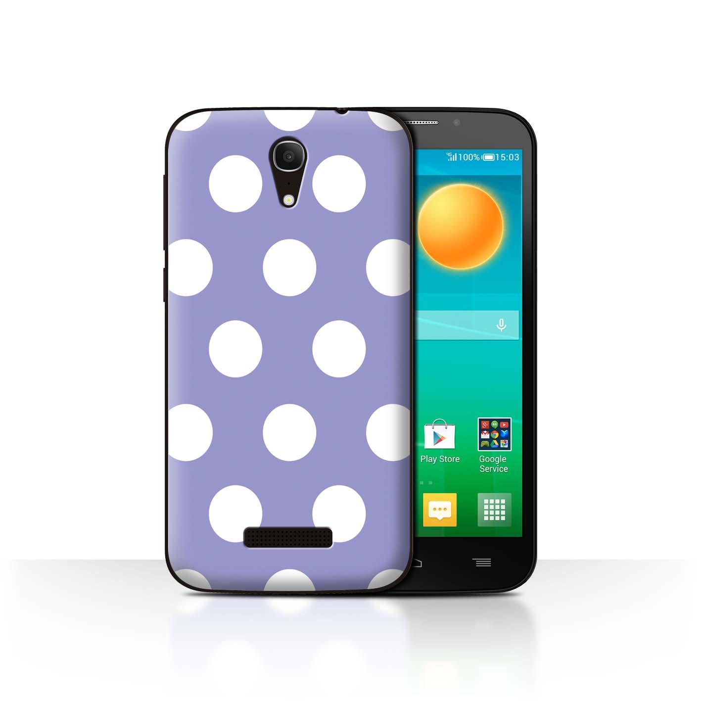 STUFF4-Back-Case-Cover-Skin-for-Alcatel-Pop-S7-Polka-Dot-Pattern