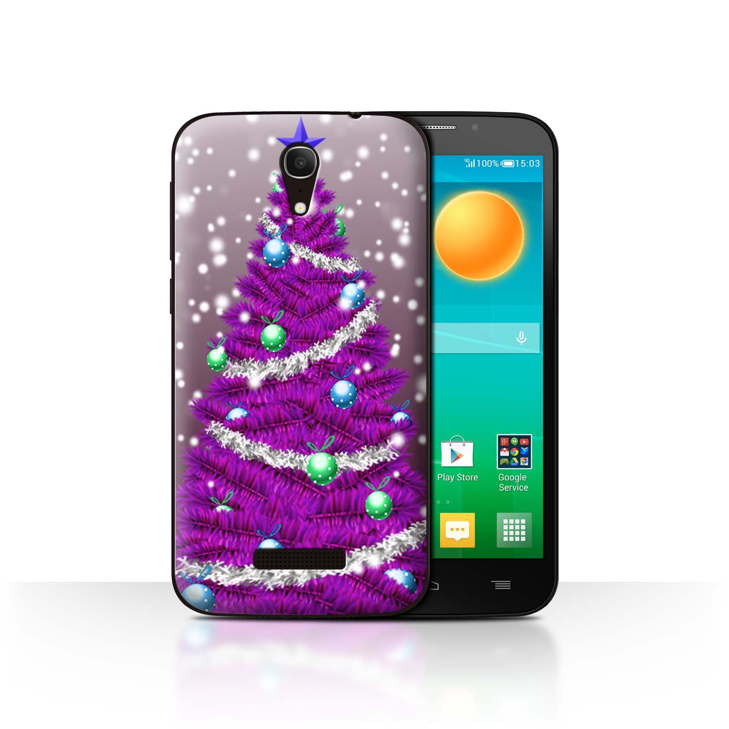 STUFF4-Back-Case-Cover-Skin-for-Alcatel-Pop-S7-Christmas-Tree