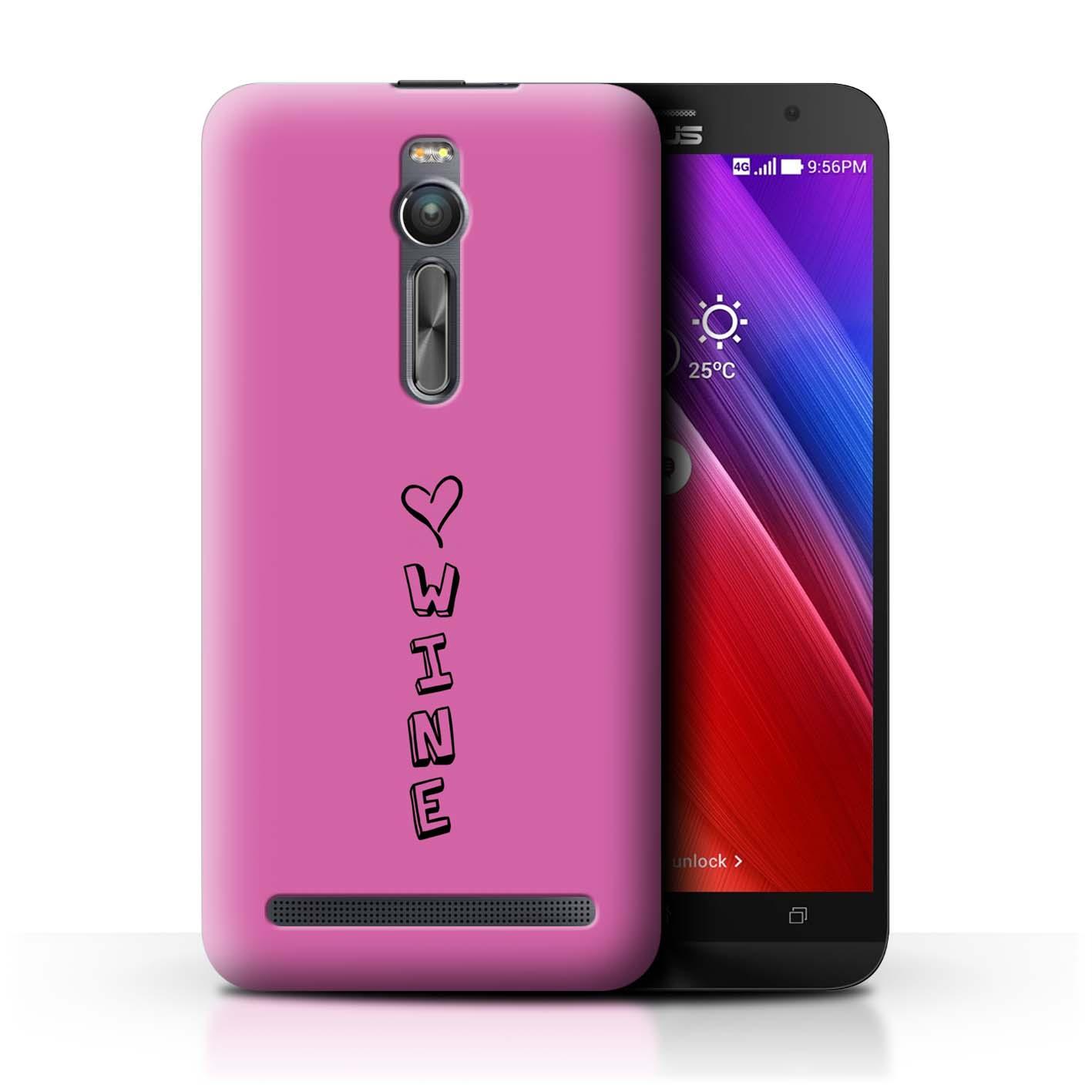 Stuff 4 teléfono caso/cubierta trasera para Asus Zenfone 2 ZE551ML/Corazón Xoxo