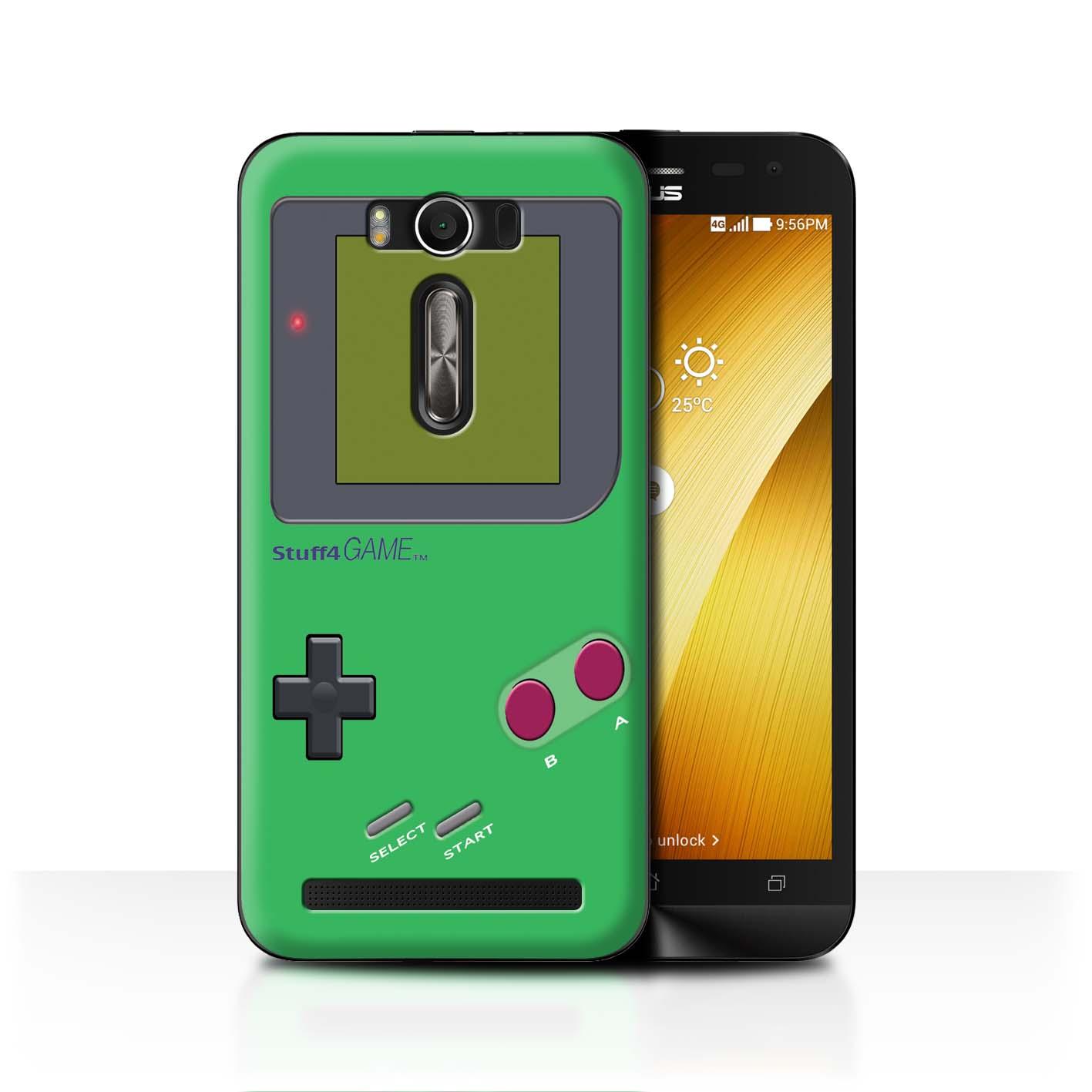 STUFF4-Back-Case-Cover-Skin-for-Asus-Zenfone-2-Laser-ZE500KL-Video-Gamer-Gameboy