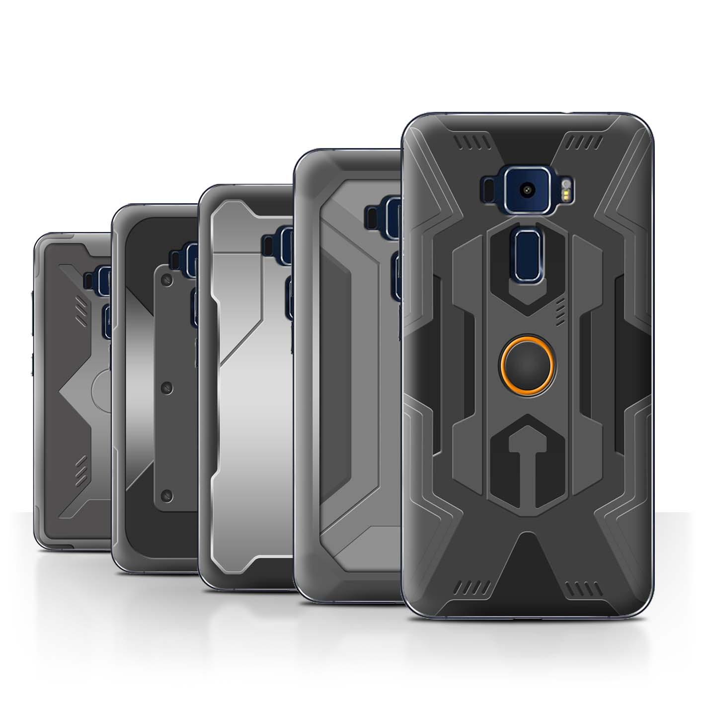 STUFF4-Back-Case-Cover-Skin-for-Asus-Zenfone-3-ZE552KL-Armour-Armor